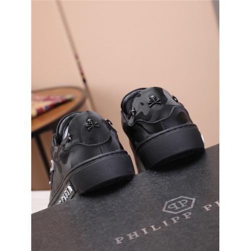 Replica Philipp Plein PP Casual Shoes For Men #818590 $80.00 USD for Wholesale
