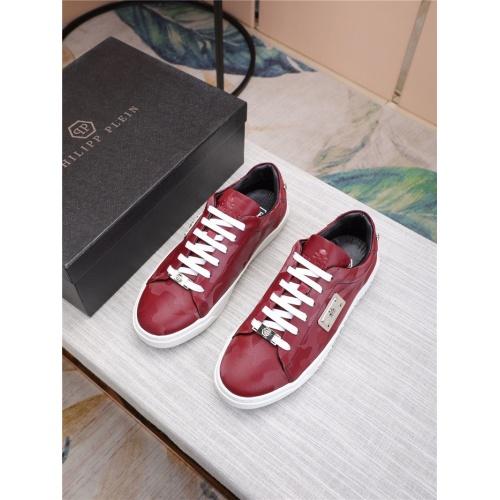 Philipp Plein PP Casual Shoes For Men #818591 $80.00 USD, Wholesale Replica Philipp Plein Shoes