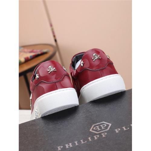 Replica Philipp Plein PP Casual Shoes For Men #818591 $80.00 USD for Wholesale