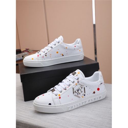 Philipp Plein PP Casual Shoes For Men #818592 $80.00 USD, Wholesale Replica Philipp Plein Shoes