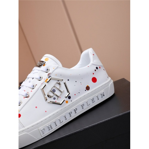 Replica Philipp Plein PP Casual Shoes For Men #818592 $80.00 USD for Wholesale