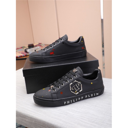 Philipp Plein PP Casual Shoes For Men #818593 $80.00, Wholesale Replica Philipp Plein Shoes