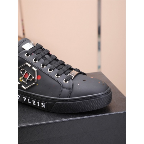 Replica Philipp Plein PP Casual Shoes For Men #818593 $80.00 USD for Wholesale
