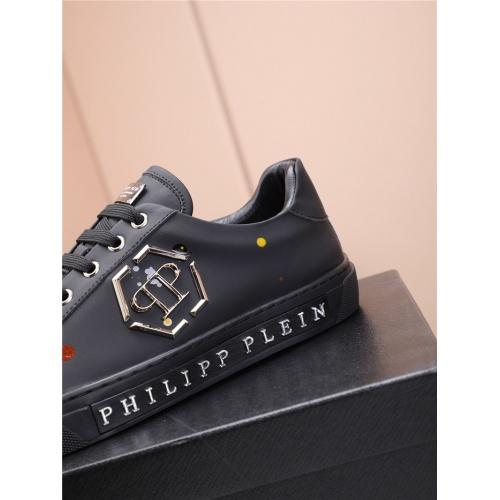 Replica Philipp Plein PP Casual Shoes For Men #818593 $80.00 USD for Wholesale