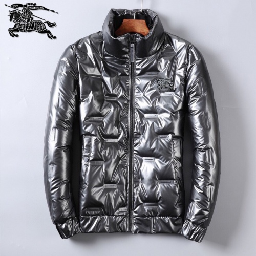 Burberry Down Feather Coat Long Sleeved Zipper For Men #818653