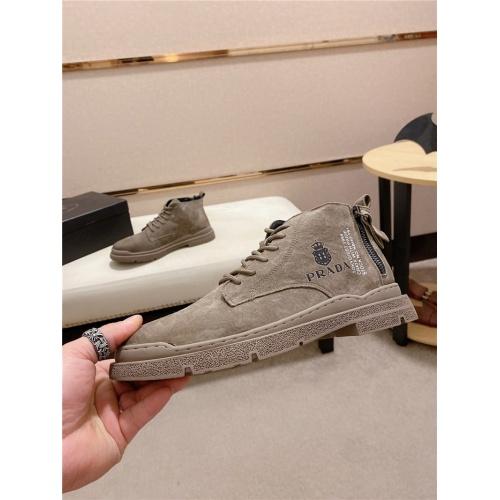 Prada High Tops Shoes For Men #818742
