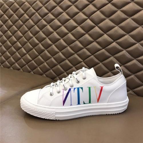 Replica Valentino Casual Shoes For Men #818747 $76.00 USD for Wholesale
