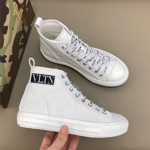 Valentino High Tops Shoes For Men #818756