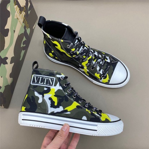 Valentino High Tops Shoes For Men #818758
