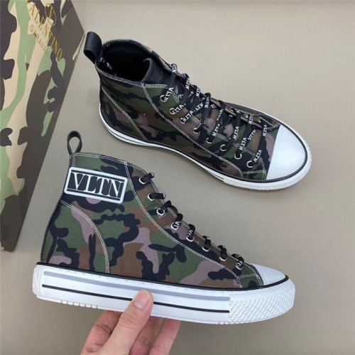 Valentino High Tops Shoes For Men #818759
