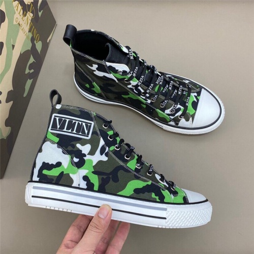 Valentino High Tops Shoes For Men #818760