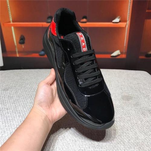 Replica Prada Casual Shoes For Men #818773 $72.00 USD for Wholesale