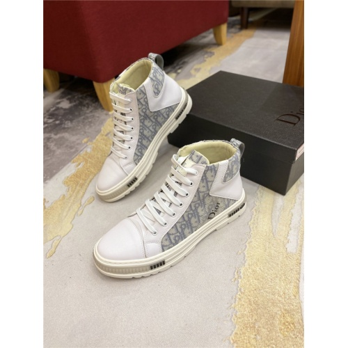 Christian Dior High Tops Shoes For Men #818776