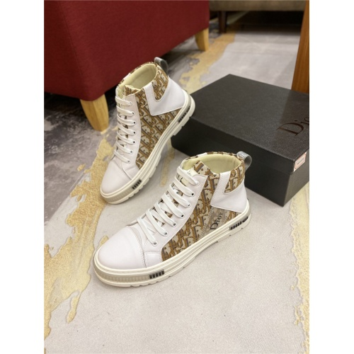 Christian Dior High Tops Shoes For Men #818777
