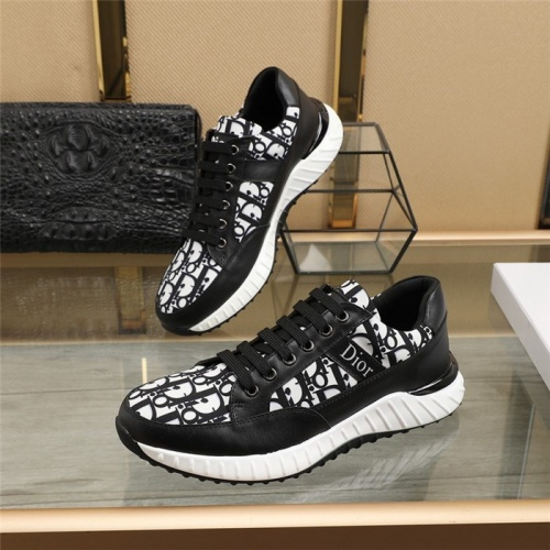 Christian Dior Casual Shoes For Men #818789 $82.00 USD, Wholesale Replica Christian Dior Casual Shoes