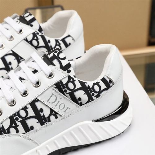 Replica Christian Dior Casual Shoes For Men #818790 $82.00 USD for Wholesale