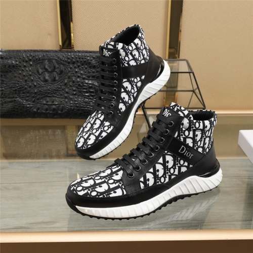 Christian Dior High Tops Shoes For Men #818791