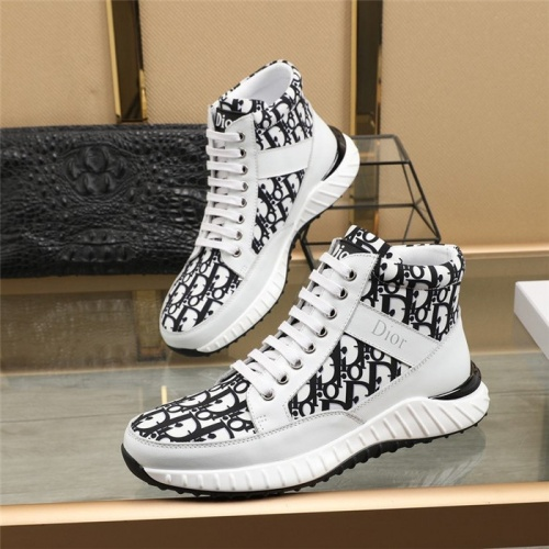 Christian Dior High Tops Shoes For Men #818792