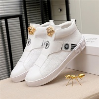 $80.00 USD Versace High Tops Shoes For Men #812081