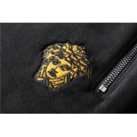 $98.00 USD Versace Tracksuits Long Sleeved Zipper For Men #813451