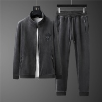 $98.00 USD Versace Tracksuits Long Sleeved Zipper For Men #813455
