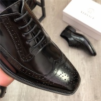 $98.00 USD Versace Leather Shoes For Men #814274