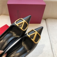 $80.00 USD Valentino High-Heeled Shoes For Women #814344