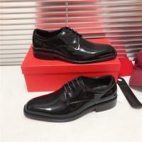 Ferragamo Salvatore FS Leather Shoes For Men #815687