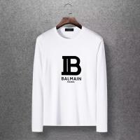 $27.00 USD Balmain T-Shirts Long Sleeved O-Neck For Men #816522