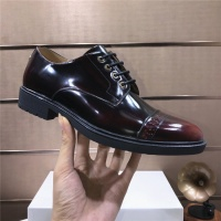 $102.00 USD Versace Leather Shoes For Men #817565