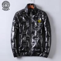$82.00 USD Versace Down Coat Long Sleeved Zipper For Men #818660