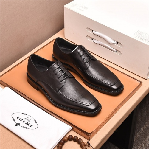 Prada Leather Shoes For Men #818950