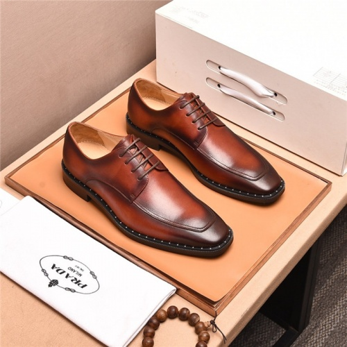 Prada Leather Shoes For Men #818951