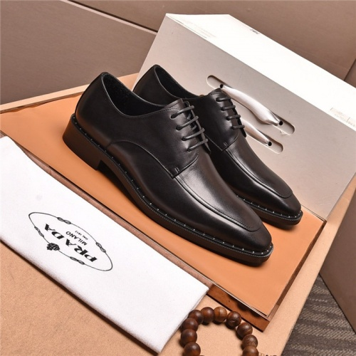 Prada Leather Shoes For Men #818952