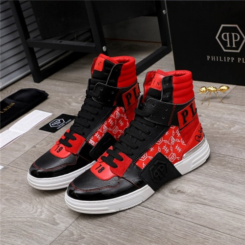 Philipp Plein PP High Tops Shoes For Men #818974