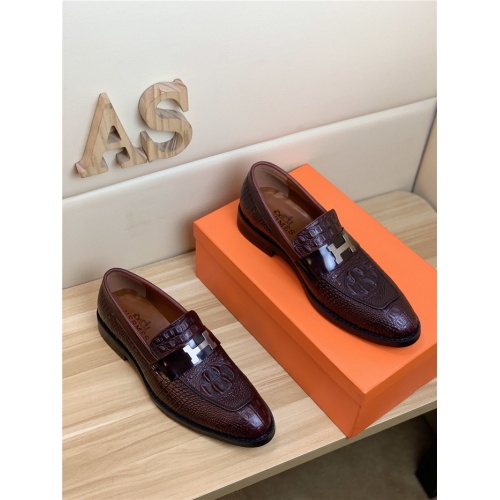 Hermes Leather Shoes For Men #818996