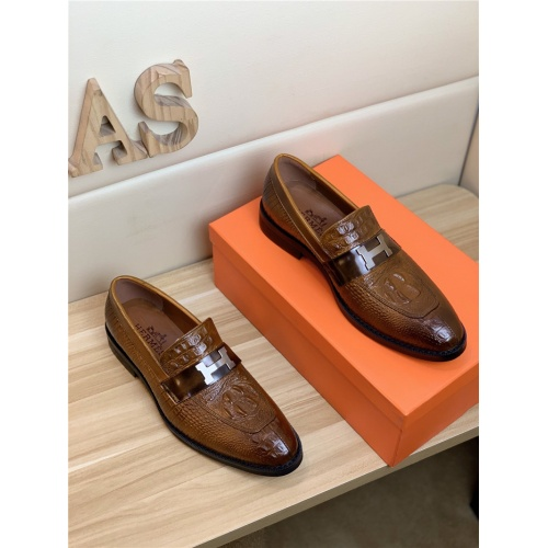 Hermes Leather Shoes For Men #818997