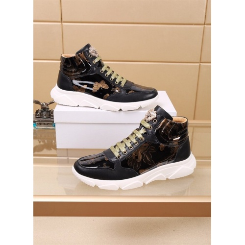 Versace High Tops Shoes For Men #819032