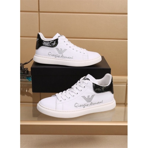 Armani Casual Shoes For Men #819043