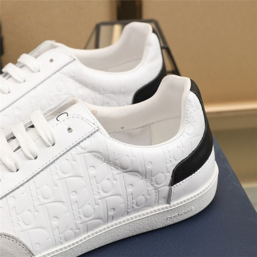 Replica Christian Dior Casual Shoes For Men #819064 $82.00 USD for Wholesale