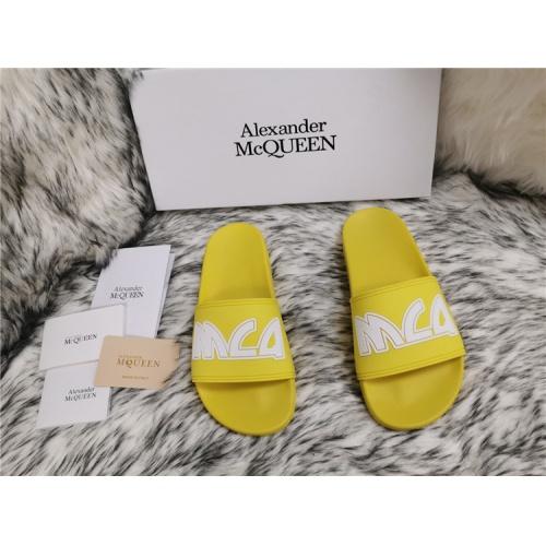 Alexander McQueen Slippers For Men #819176