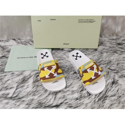 Off-White Slippers For Men #819189