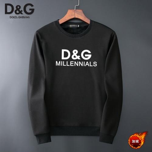 Dolce & Gabbana D&G Hoodies Long Sleeved O-Neck For Men #819190