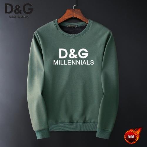 Dolce & Gabbana D&G Hoodies Long Sleeved O-Neck For Men #819192