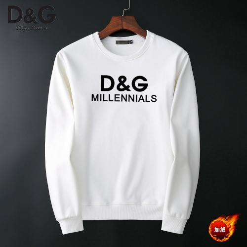 Dolce & Gabbana D&G Hoodies Long Sleeved O-Neck For Men #819193