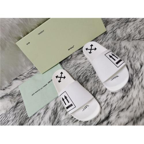 Off-White Slippers For Men #819197