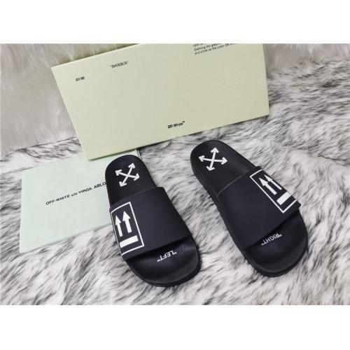 Off-White Slippers For Men #819198
