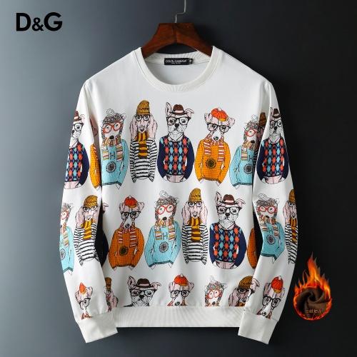 Dolce & Gabbana D&G Hoodies Long Sleeved O-Neck For Men #819202