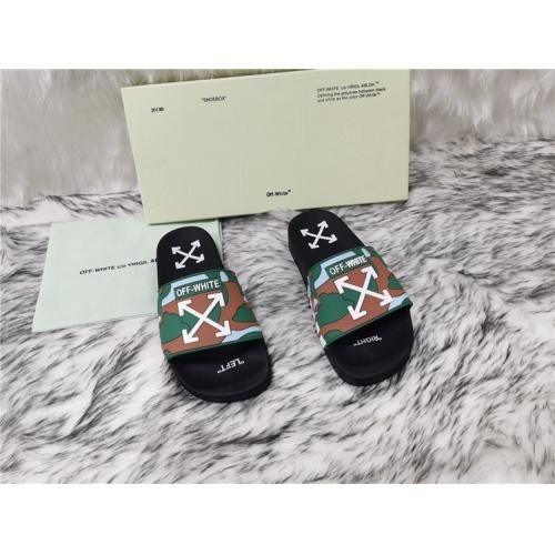 Off-White Slippers For Women #819205