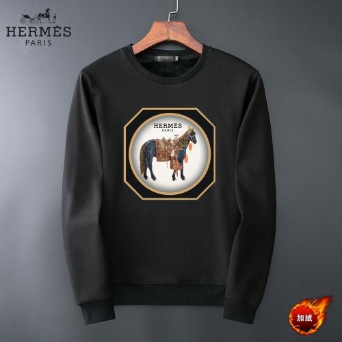 Hermes Hoodies Long Sleeved O-Neck For Men #819235
